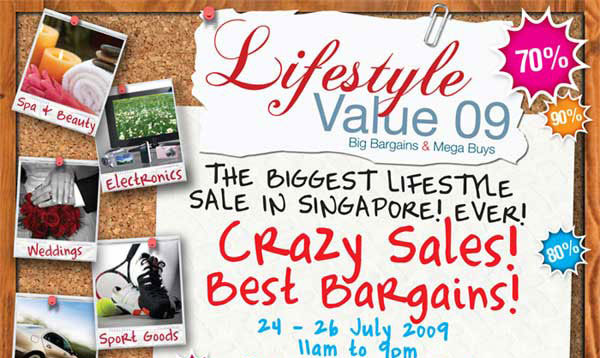Lifestyle Value 09, 24-26 July 2009, 11am to 9pm